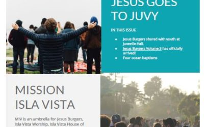 May 2018 – Jesus Goes to Juvy E-Newsletter